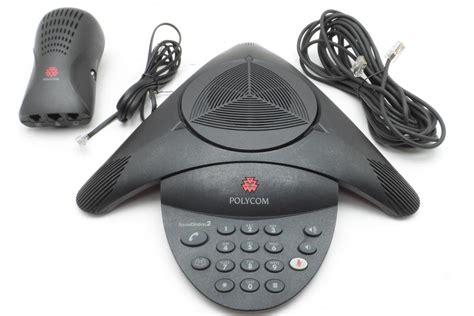 Polycom Soundstation2 Conference Phone Expandable W Display Country polycom soundstation2 2201 15100 001 non expandable conference phone w wall mod ebay