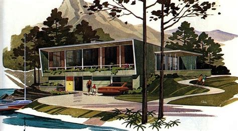 mid century modern home design blogs pin by bryan jernigan on spaces pinterest
