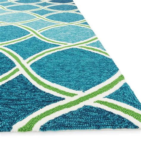 Green and blue area rugs home design ideas