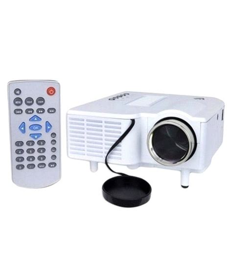 Proyektor Mini Uc 28 buy unic uc 28 plus mini led projector white at best price in india snapdeal