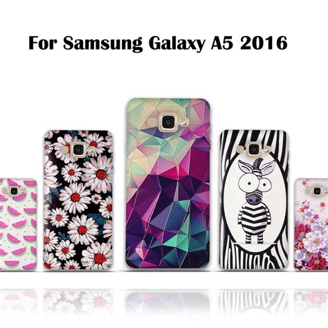 Samsung A5 2016 A510 Stitch 3d Karakter Soft Casing Cover aliexpress buy luxury 3d relief printing soft tpu for samsung a5 2016 shell silicon