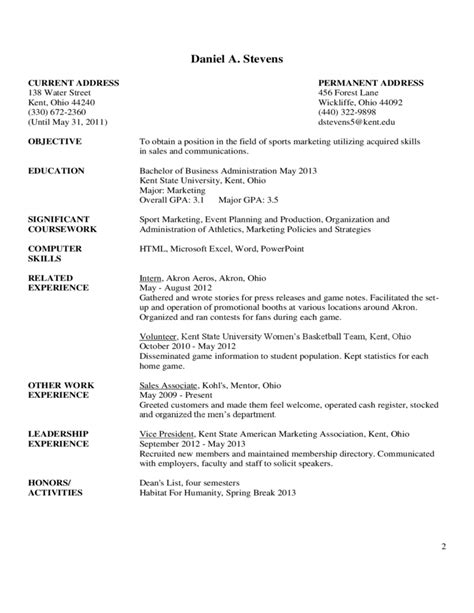 exles of resumes and cover letters sle resume cover letter free