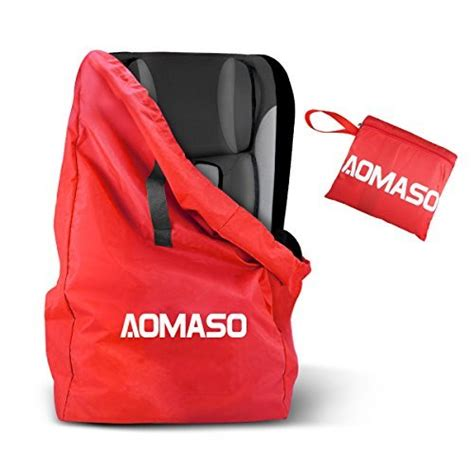 britax car seat backpack carrier aomaso gate check travel bag with waterproof