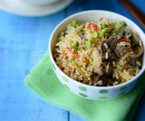 Cilok Goreng Pasundan Rasa Pedas 4 resipi nasi goreng daging bersama kacang panjang ringkas pedas sedap rasa