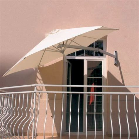 Wall Mounted Patio Umbrella Wall Mounted Umbrella Outdoor Umbrellas By Home Infatuation