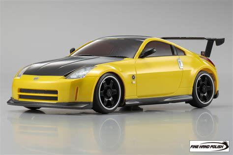 Kyosho Original K06007s Nissan Fairlady Z Z33 Nismo S Tune 1 64 Japa kyosho product nissan fairlady z z33 nismo s tune equipped with gt rear wing yellow metallic