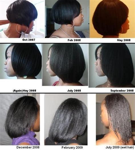 relaxed hair growth challenge 17 meilleures id 233 es 224 propos de relaxed hair growth sur