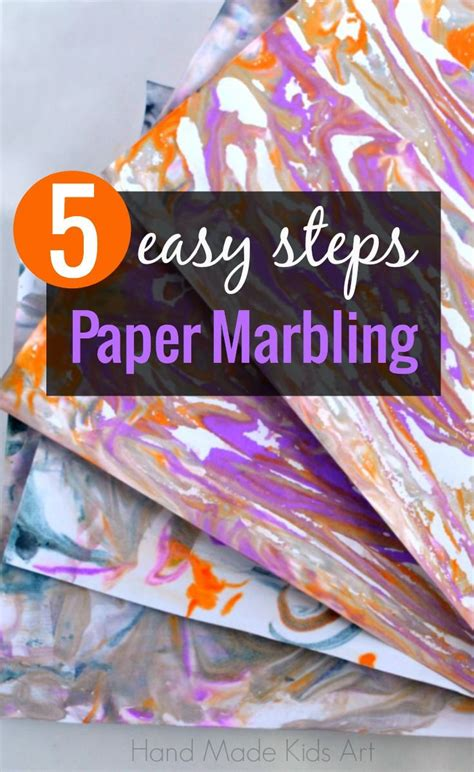 Marbled Paper Craft For - 1000 images about scout craft ideas on