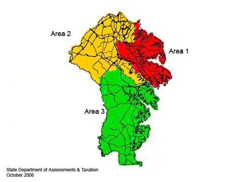 Arundel County Property Tax Records Arundel County Reassessment Areas