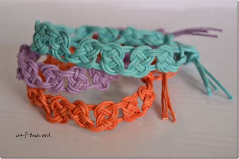How To Do Macrame Bracelets - craft boulevard macrame bracelets