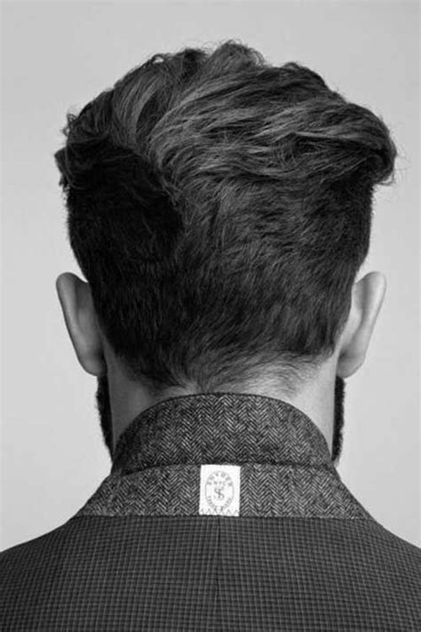 back of guys hairstyles back view of short haircuts for men haircuts pinterest