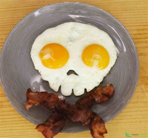 Egg Mold Skull by Skull Egg Mold Make Sushi
