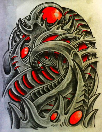 biomechanical tattoo step by step biomechanical draw for tattoos visit wwwfotologcomthiago