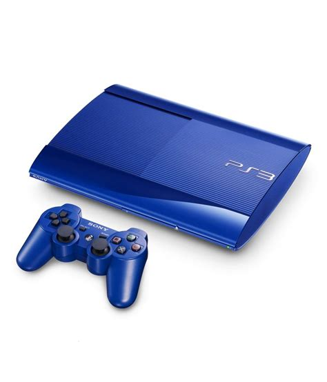best price ps3 console buy sony playstation 3 12gb blue at best price