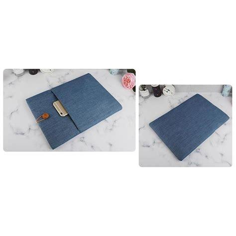 Macbook Air 13 Inch Jakarta linen sleeve macbook air pro 13 3 inch blue