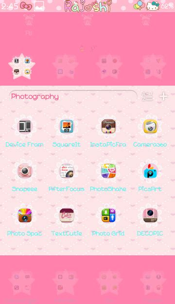 go launcher themes girly pretty droid themes twinstar go launcher theme
