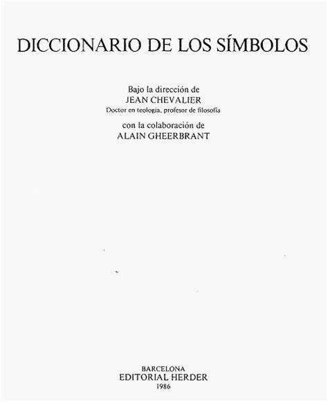 diccionario de los simbolos diccionario de los s 237 mbolos pdf