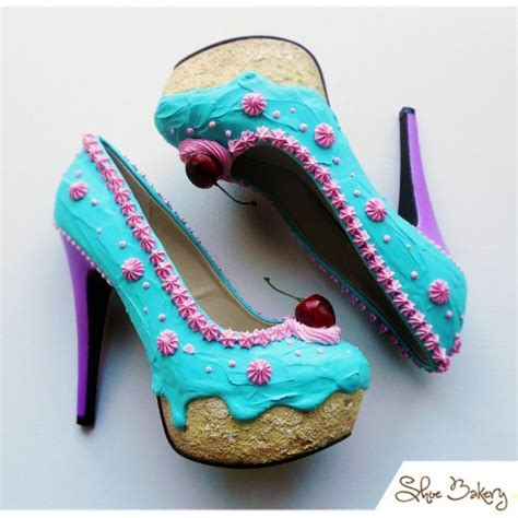 Sweet Shoes quot sweet quot shoes made in the form of cakes and