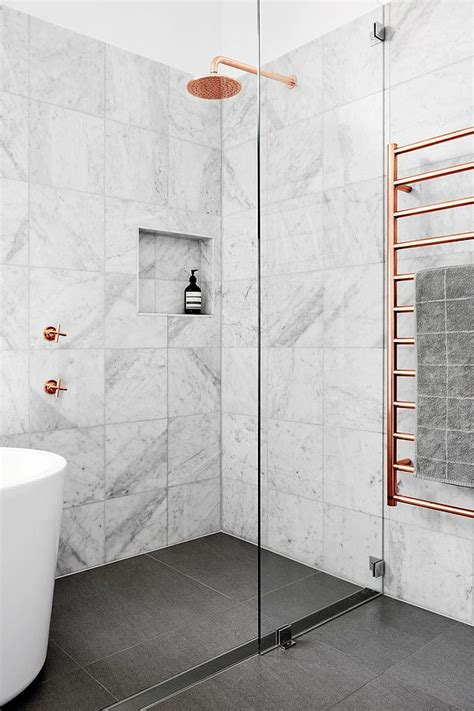 Awesome Bathroom Shower Design Ideas #8: Marble-tile-shower-the-6-top-bathroom-trend-of-2018-interior-and-house-copper-more-picture-wall-pro-con-design-idea-cleaner-installation-ceiling.jpg