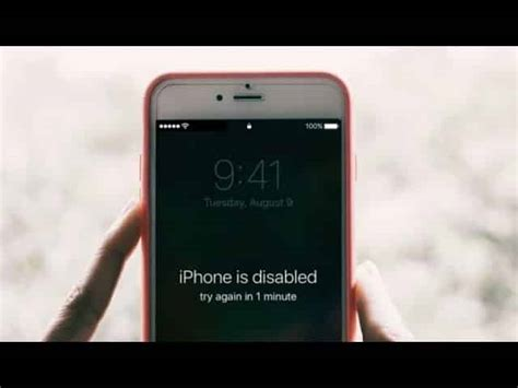 my iphone is disabled how to undisable an iphone