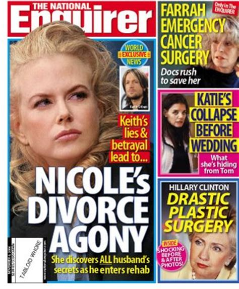 This Week In The National Enquirer Stepford by Tabloid This Week In The National Enquirer Will