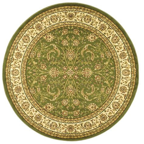 area rugs 8 ft safavieh lyndhurst ivory 8 ft x 8 ft area rug lnh219b 8r the home depot