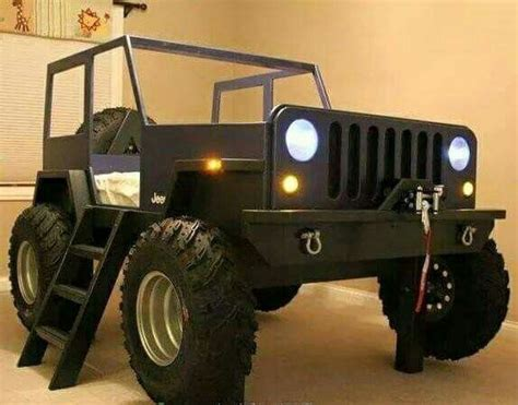 pin  andrea cannon    home   jeep bed