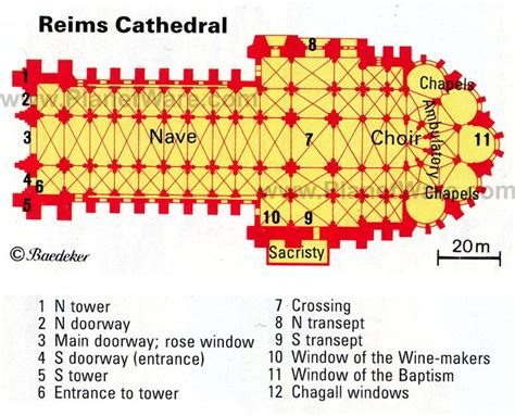 Reims Cathedral Floor Plan | 10 top rated tourist attractions in reims planetware