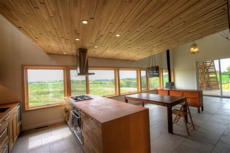 Midwest Interiors by Modern Midwest Barn House