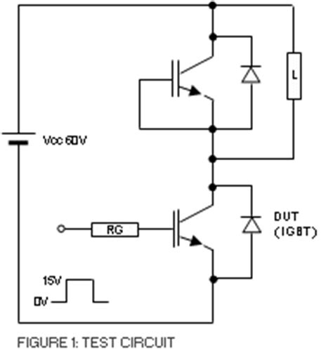 igbt transistor as switch high power resistant device testing electronic devices evaluation division services oki