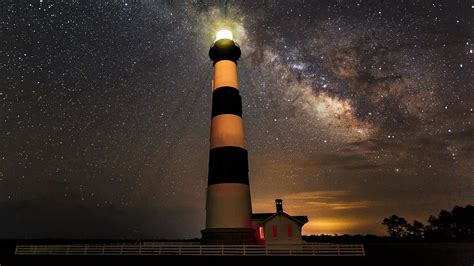 bodie lighthouse  north carolina hd wallpaper