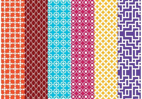 Vector Background Pattern Pack | morocco vector pattern pack download free vector art