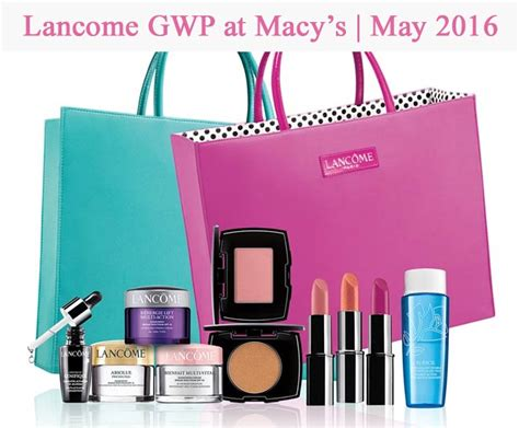 Where Can I Use My Macy S Gift Card - lancome gifts with purchase in april 2017