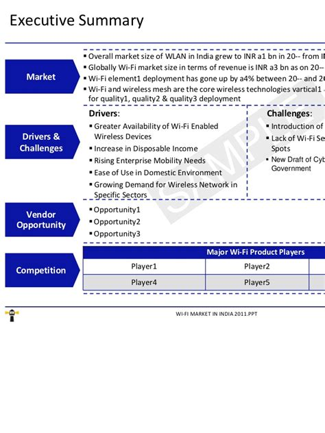 Of Wisonsin Mba Market Research by Market Research Report Wi Fi Market In India 2011