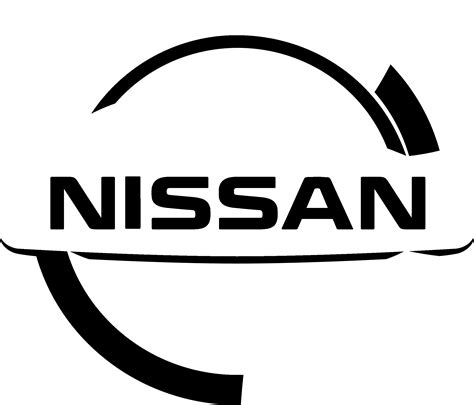 nissan black logo nissan logo png transparent svg vector freebie supply