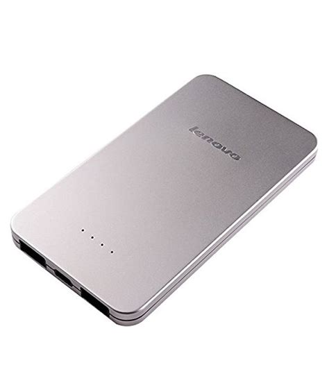Charger Hp Lenovo A7000 lenovo power bank 5000mah silver at snapdeal