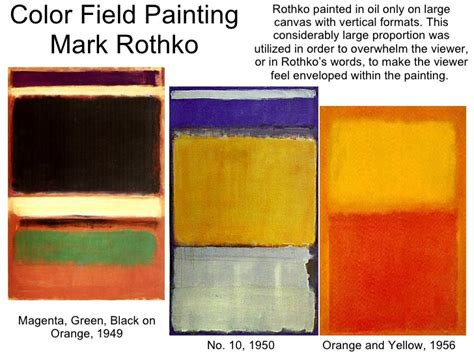 which movement can color field painting be classified kcc 211 ch 23 postwar modern movements in the west