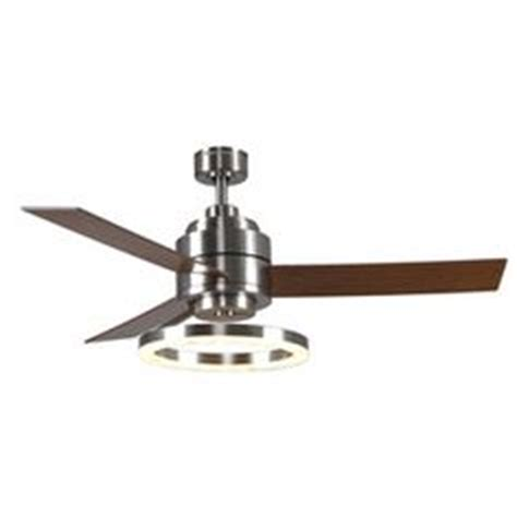 harbor galileo ceiling fan harbor galileo 52 in brushed chrome downrod mount