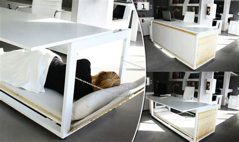Office Desk Bed Desk Bed Is The Answer To All Your Bosses Dreams Style Style Express Co Uk