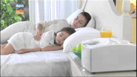 aqua bed warmer aqua bed warmer non electric heating blanket youtube