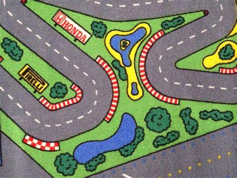 Race Car Floor Rug For Kids Purpletoyshop Com Race Track Area Rug