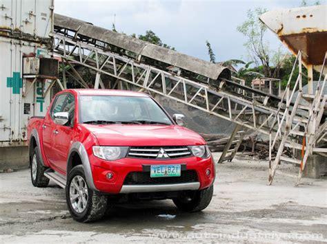 mitsubishi fuzion 2014 mitsubishi strada 2014 philippines autos weblog