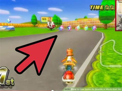 7 Tips On Mario Wii With A Partner by 4 Ways To Use Items As Shields In Mario Kart Wii Wikihow