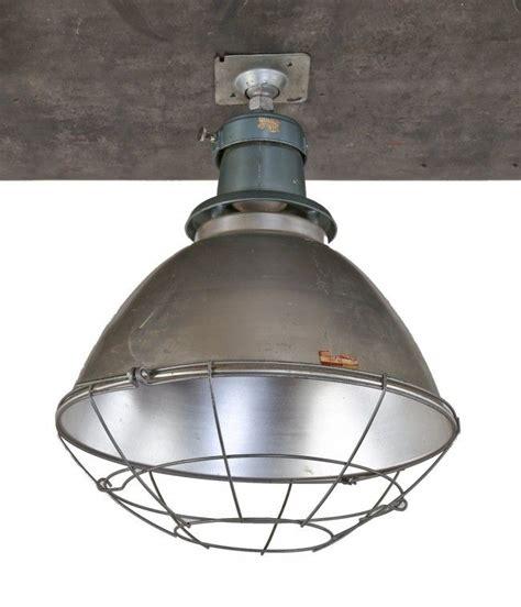 Light Fixtures Chicago Single Oversized C 1950 S American Industrial Chicago School Gymnasium Bowl Pendant
