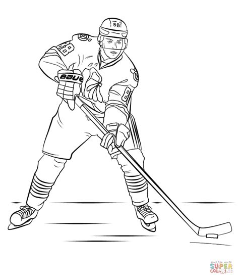 hockey coloring pages of sidney crosby patrick kane coloring page free printable coloring pages