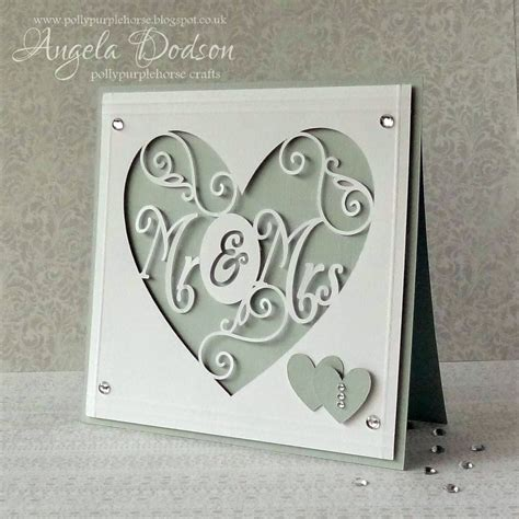 card template for cricut pollypurplehorse is crafty explore ing a wedding card