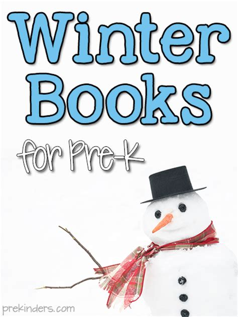 winter books books about winter for pre k prekinders