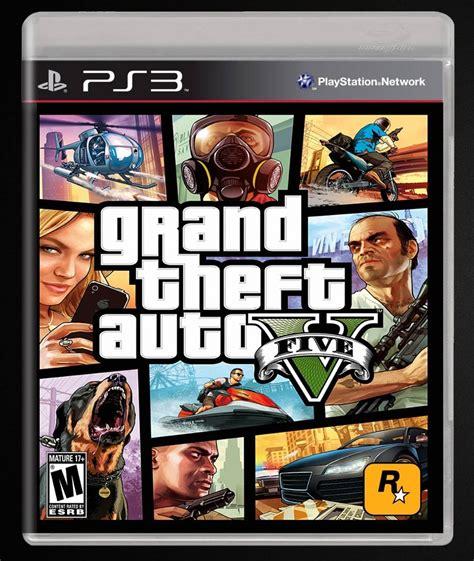 Grand Theft Auto V Ps3 by Juego Ps3 Gta V Newcomputers Bahia Blanca Argentina