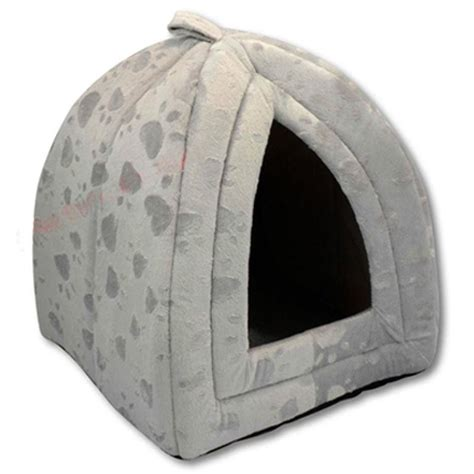 igloo house for dogs luxury pet house igloo dog cat soft comfy bed cats dogs beds houses ebay