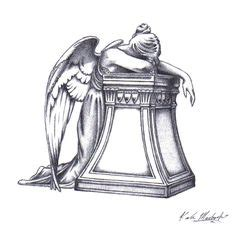 angel of grief tattoo by derdygirl on deviantart marketplace tattoo grieving angel and tombstone 15785